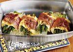 Individual Lasagnas with Asparagus & Prosciutto Recipe