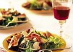 Mesclun, Arugula and Fennel Salad with Prosciutto and Pear Vinaigrette Recipe