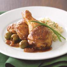 Moroccan Braised Chicken Recipe