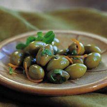 Olives with Orange and Marjoram Recipe