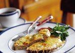 Open-Faced Croque-Monsieur Recipe