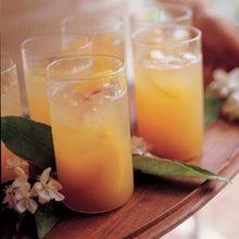 Peach Nectar Spritzers Recipe