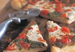 Pesto and Cherry Tomato Pizza Recipe