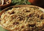 Porcini, Caramelized Onion and Sage Risotto Recipe