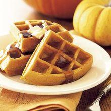 Pumpkin Pie Waffles Recipe