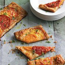 Rustic Tomato & Mozzarella Tart Recipe