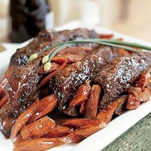Short Ribs Braised in Red Pepper Flakes Sauce Recipe