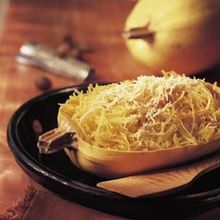 Spaghetti Squash with Brown Butter and Parmesan Recipe