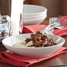 Steak and Mushroom Stew Recipe