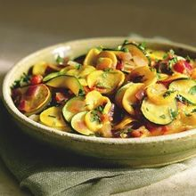Summer Squash with Southwestern Flavors Recipe