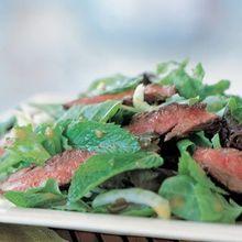 Thai Steak & Bok Choy Salad Recipe