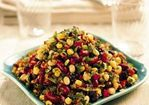 Three-Bean and Corn Salad with Cider Vinaigrette Recipe