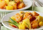 Tropical Fruit Salad with Toasted Coconut Recipe