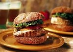 Tuna Burgers with Ginger-Mustard Mayonnaise Recipe