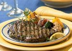 Tuscan Grilled Rib-Eye Steaks Recipe