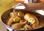 Braised Chicken with Lemon & Green Olives Recipe