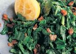 Braised Mustard Greens with Pancetta and Lemon Recipe