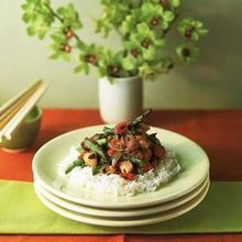 Chicken and Asparagus with Spicy Black Bean Sauce Recipe