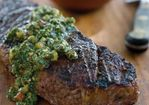 Churrasco-Style Steak with Chimichurri Recipe