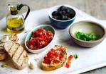 Fresh tomato salsa (with bruschetta variations) Recipe