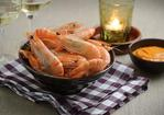 Prawns with spicy dipping sauce Recipe