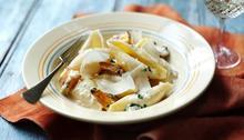 Pumpkin pasta with rosemary Recipe