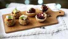 Red onion and Brie tartlets  Recipe