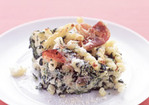 Baked Pasta with Spinach, Ricotta, and Prosciutto Recipe