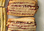 Raspberry-Almond Layered Icebox Cookies Recipe