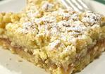 Rhubarb Shortbread Recipe