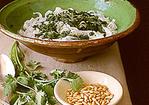 Rice Noodles with Cilantro Pesto Recipe