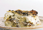 Rich Artichoke and Mushroom Lasagna Recipe