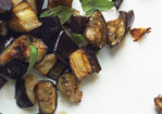 Roasted Eggplant with Basil Recipe