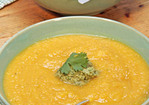 Roasted Winter Squash and Apple Soup Recipe