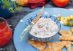Smoked-Trout Pate with Pita Crisps Recipe