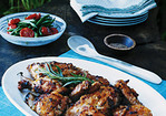 Sweet and Savory Baked Chicken with Pineapple and Tarragon Recipe