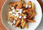 Tomato-and-Shrimp Pasta with Feta Recipe