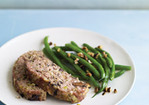 Turkey Meatloaf with Fontina and Mushrooms Recipe
