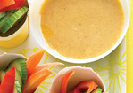 Veggies with Honey-Mustard Dip Recipe