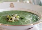 Watercress and Ramp Soup Recipe