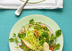Watercress, Frisee, and Pear Salad Recipe