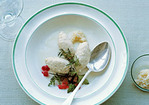 Whitefish Quenelles with Beets, Horseradish, and Fresh Herbs Recipe