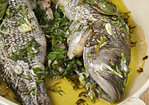 Whole Roasted Sea Bass Recipe