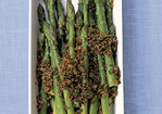 Boiled Asparagus with Parsleyed Breadcrumbs Recipe
