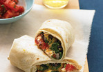 Burritos with Squash and Goat Cheese Recipe