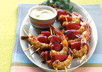 Caribbean Shrimp Kebabs Recipe