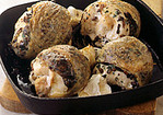 Chicken Stuffed with Savory Duxelles Recipe