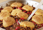 Cornbread-and-Beef Skillet Pie Recipe
