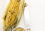 Corn on the Cob with Cilantro-Lime Butter Recipe