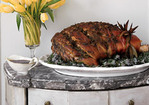 Fresh Ham with Green Herb Paste Recipe